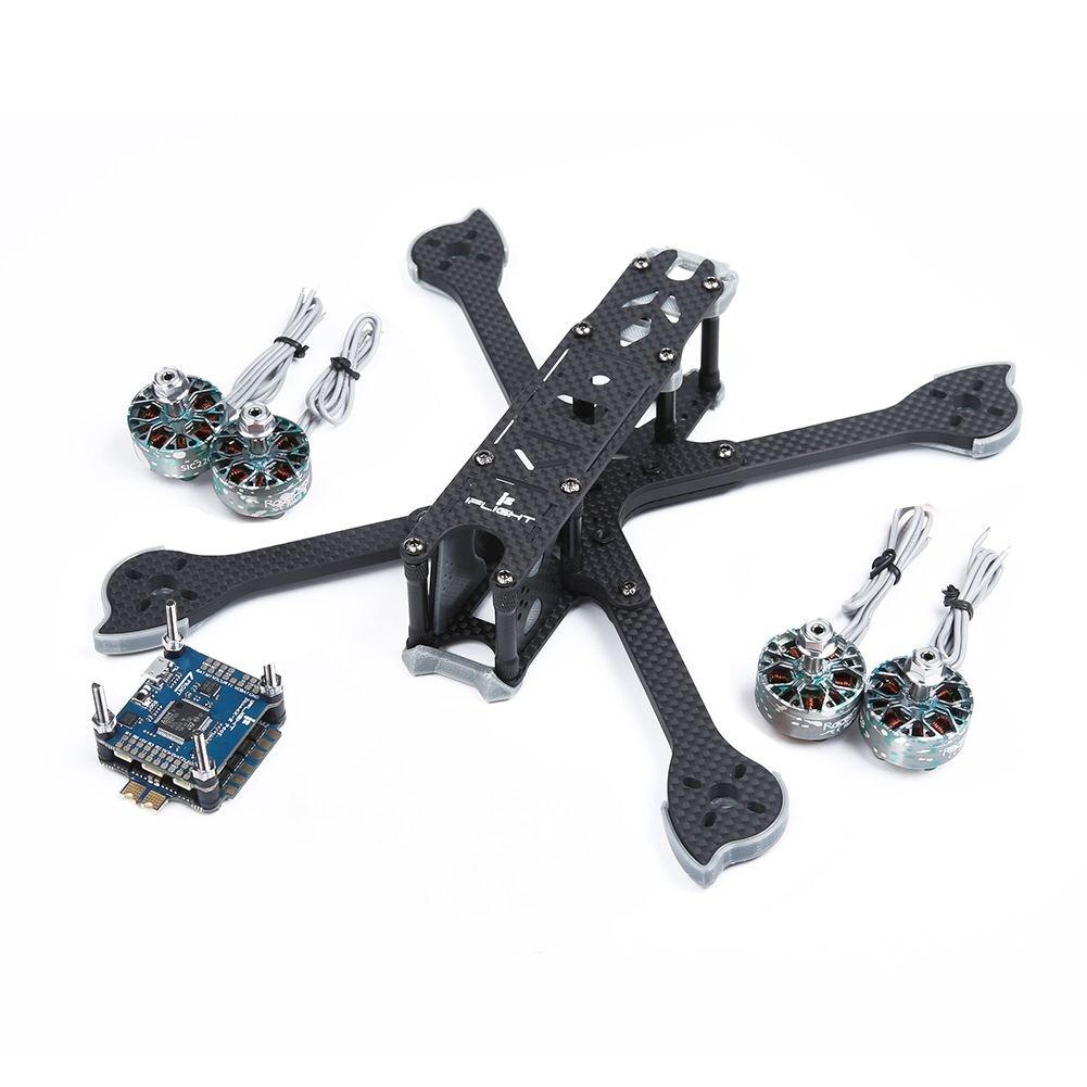 multi-rotor-parts iFlight XL5 V4 227mm Frame+iFlight SucceX-E F4 & 45A 4 in 1 Brushless ESC Stack+4PCS Racerstar SIC 2207 2688KV Motor HOB1681621
