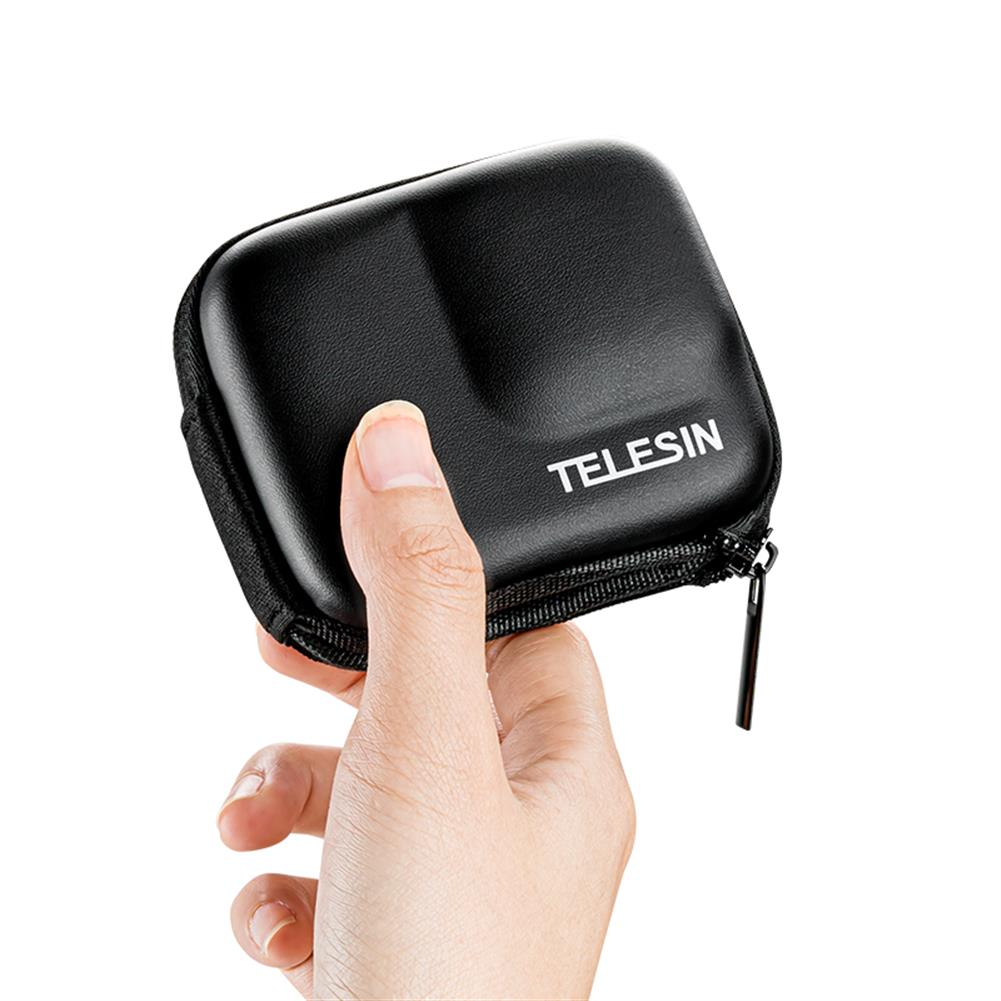 fpv-system TELESIN Camera Bag Storage Protection Box Outdoor Sports Body Protection Bag for insta360 one R 4K Camera HOB1681847