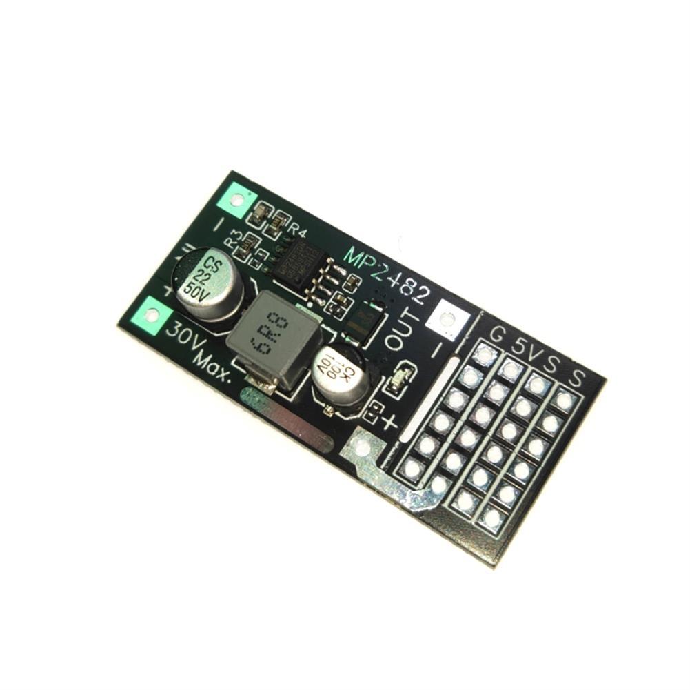 rc-airplane-parts UBEC 7-30V 2-7S input Max 5V 5A Output Power Module Voltage Regulator for RC Servo Robot Airplane HOB1682386