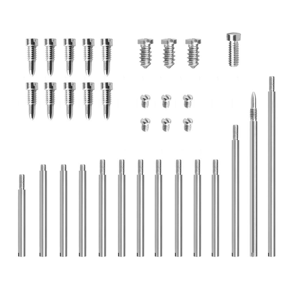 woodwind-brass-accessories W22 Clarinet Clarinet Accessories Set 14 Thread Shaft Lever 20 PCs Screw Wind Music Repair Parts HOB1682498