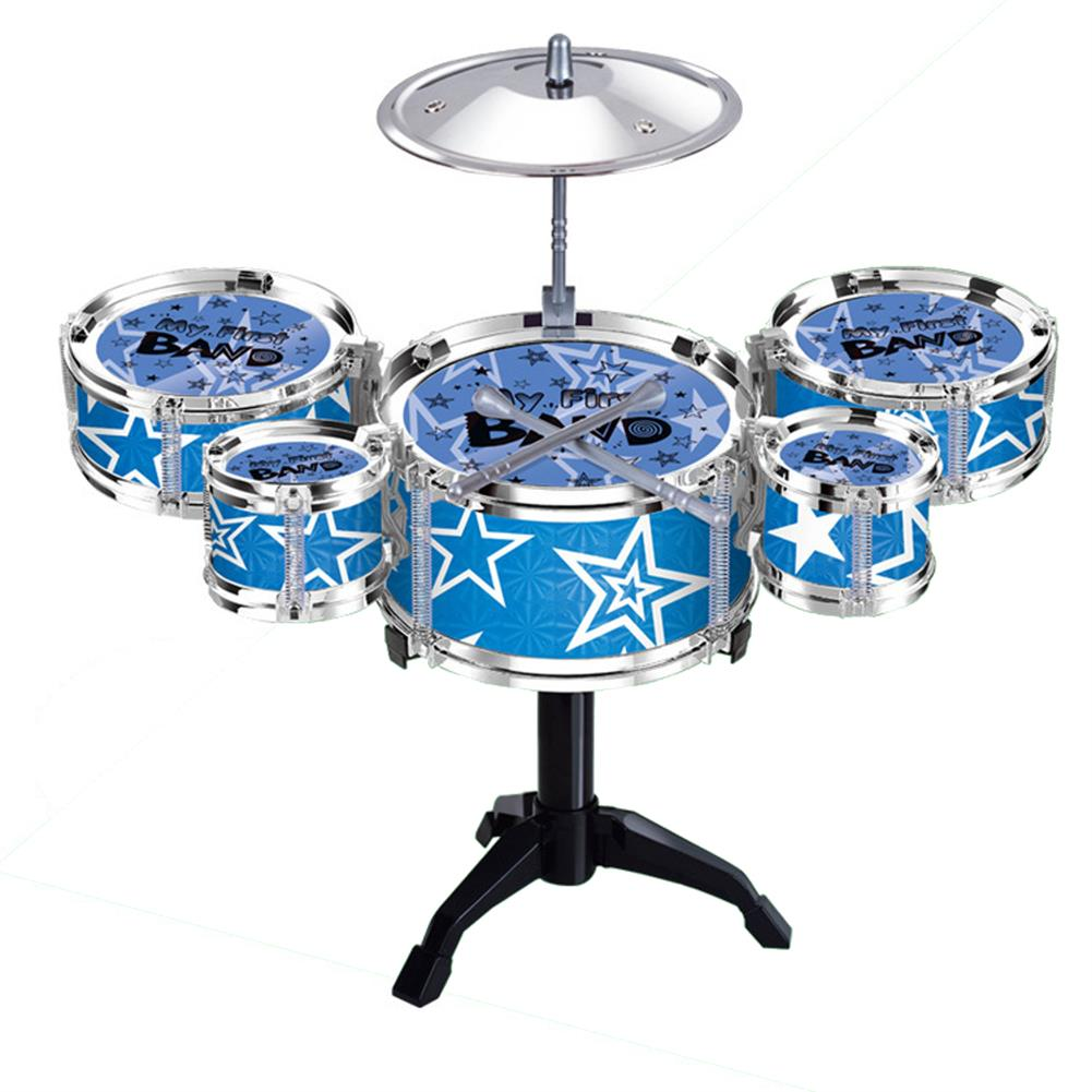 drum-sets Mini Jazz Drum Rock Kids Education Percussion Musical instrument Fun Toy Gift HOB1682719