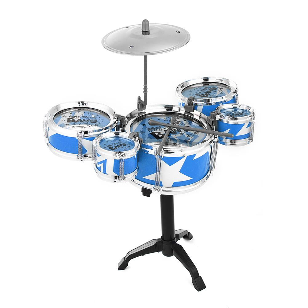 drum-sets Mini Jazz Drum Rock Kids Education Percussion Musical instrument Fun Toy Gift HOB1682719 1