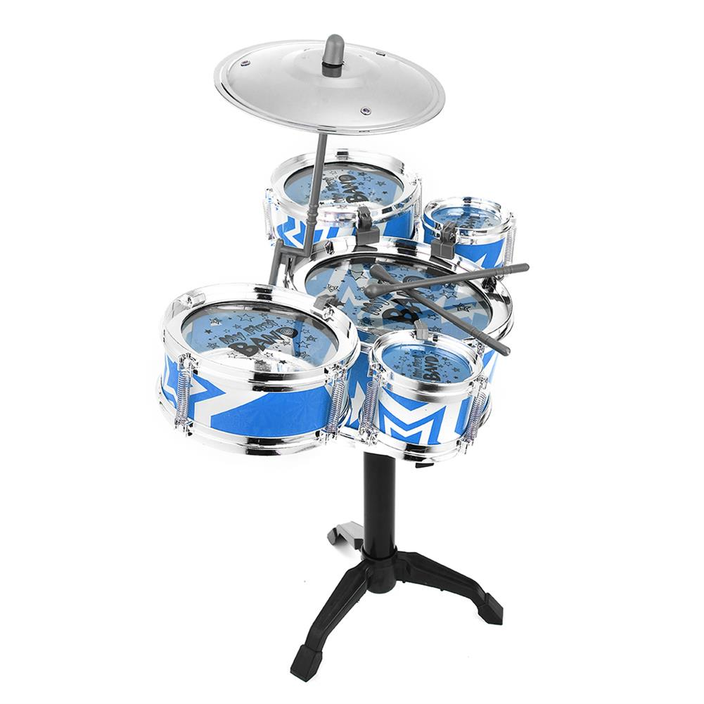 drum-sets Mini Jazz Drum Rock Kids Education Percussion Musical instrument Fun Toy Gift HOB1682719 2