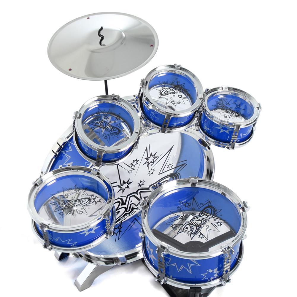 drum-sets 16x Kids Junior Drum Kit Music Set Children Mini Big Band Jazz Musical Play Toy HOB1682731 1