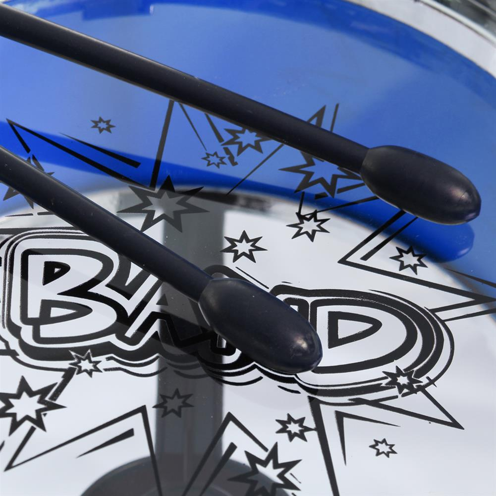 drum-sets 16x Kids Junior Drum Kit Music Set Children Mini Big Band Jazz Musical Play Toy HOB1682731 2