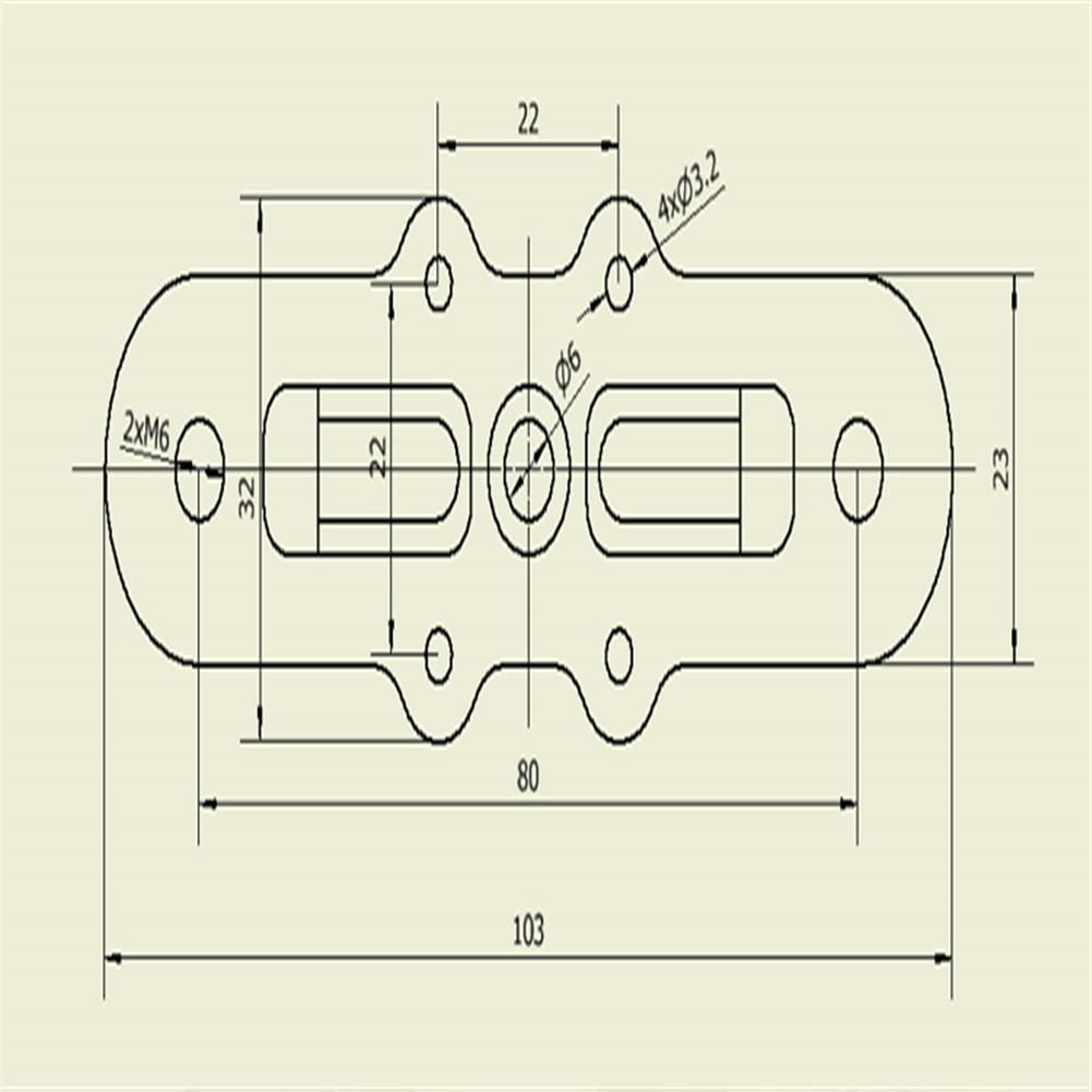 multi-rotor-parts Happymodel Multirotor Multicopter Propeller Clip for 3090A X8 Propeller HOB1682878 2