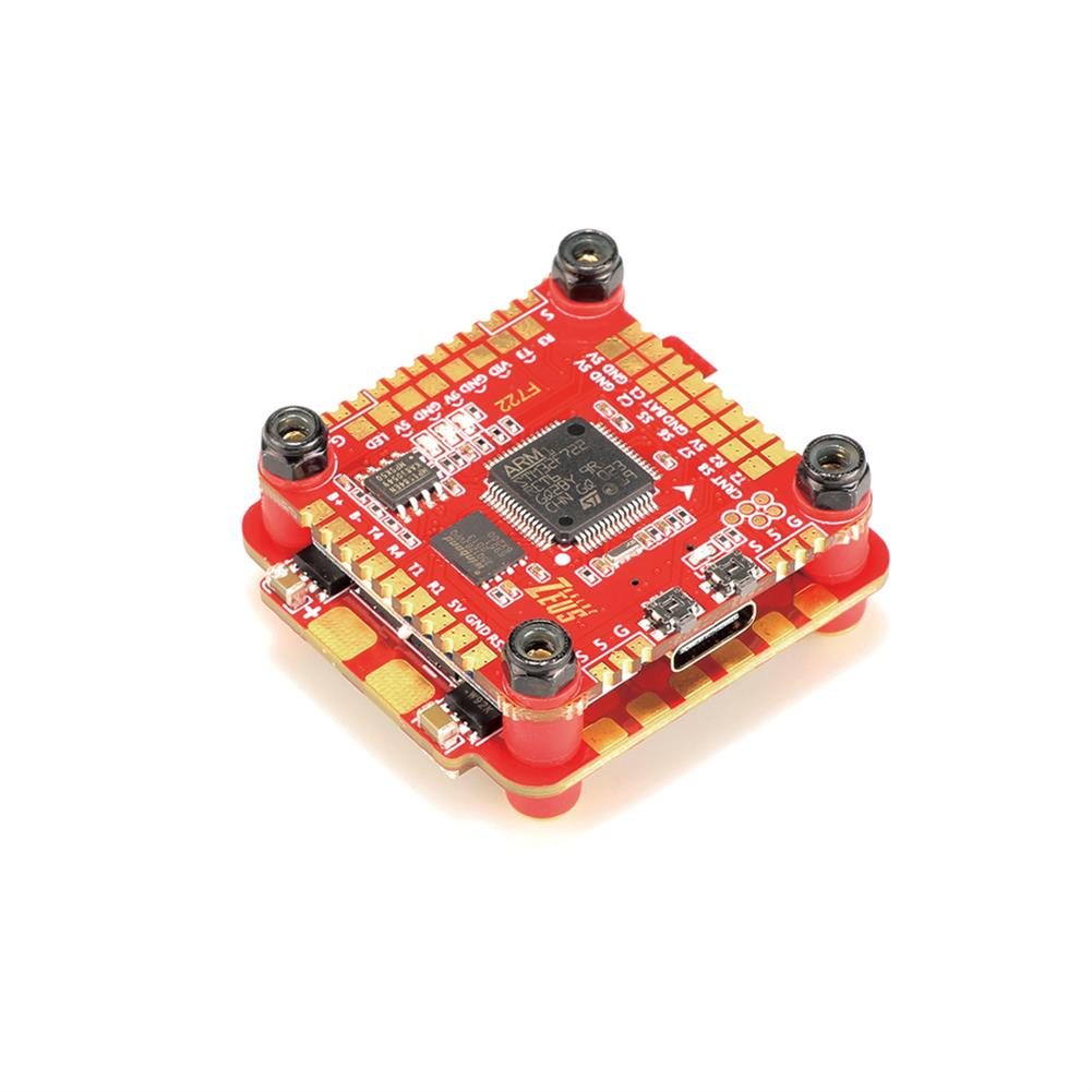 multi-rotor-parts 30.5x30.5mm HGLRC Zeus F760 F7 Flight Controller 3-6S w/ 5V 9V BEC & 60A BL_32 DShot1200 4in1 ESC Stack Support DJI Air Unit for RC Drone HOB1682969 1