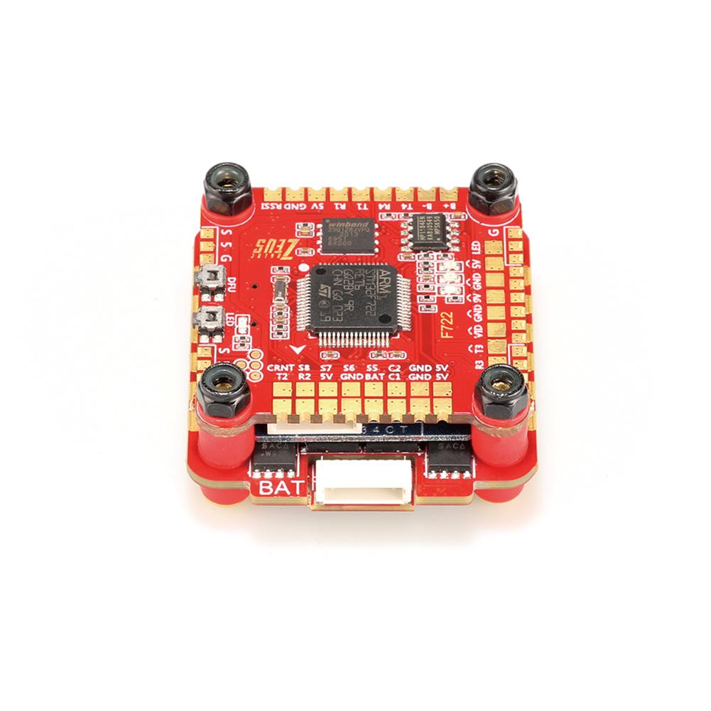 multi-rotor-parts 30.5x30.5mm HGLRC Zeus F760 F7 Flight Controller 3-6S w/ 5V 9V BEC & 60A BL_32 DShot1200 4in1 ESC Stack Support DJI Air Unit for RC Drone HOB1682969 3