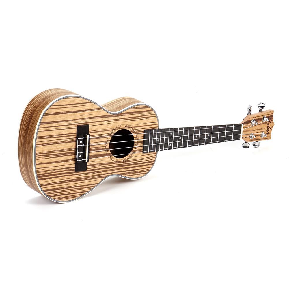 ukulele Zebra 21 23 inch Full 4 Strings Sapele Ukulele w/Gig Bag,Tuner,Capo,Nylon Strings,Picks,Strap for Beginners,Adults HOB1682985 3