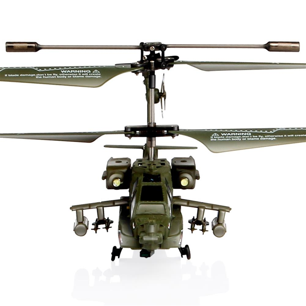 rc-helicopter SYMA S109G 3.5CH Beast RC Helicopter RTF AH-64 Military Model Kids Toy HOB1683021 2
