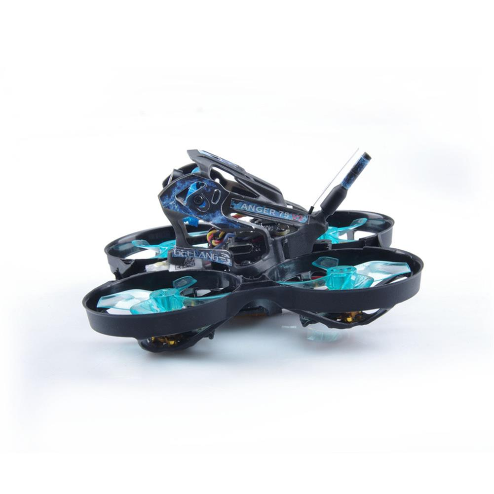 fpv-racing-drone GEELANG ANGER 75X V2 5.8G Whoop 3-4S 75mm FPV Racing Drone BNF PNP with SI-F4 Flight Controller GL1202 6900KV Motor HOB1683219 3