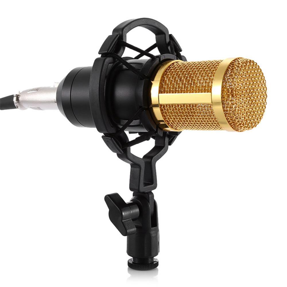 microphones-karaoke-equipment BM800 Microphone Kit Condenser Sound Recording Microphone with Phantom Power for Radio Braodcasting Singing Recording KTV Karaoke Mic HOB1683618 2