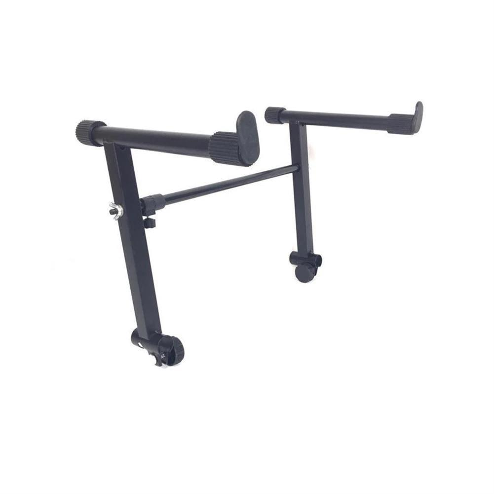 keyboard-accessories Adjustable Black Single Tube Heightening Electronic Piano Stand Keyboard instrument Support Holder Parts Accessoreis HOB1683868 3