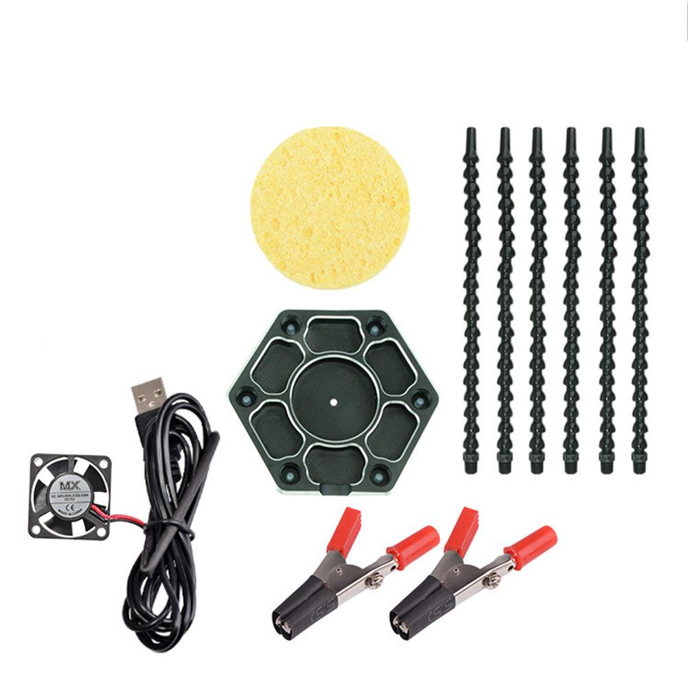 tools-bags-storage HJ FPV Universal Arm PCB Welding Auxiliary Tool Soldering Tool Set HOB1683965 1