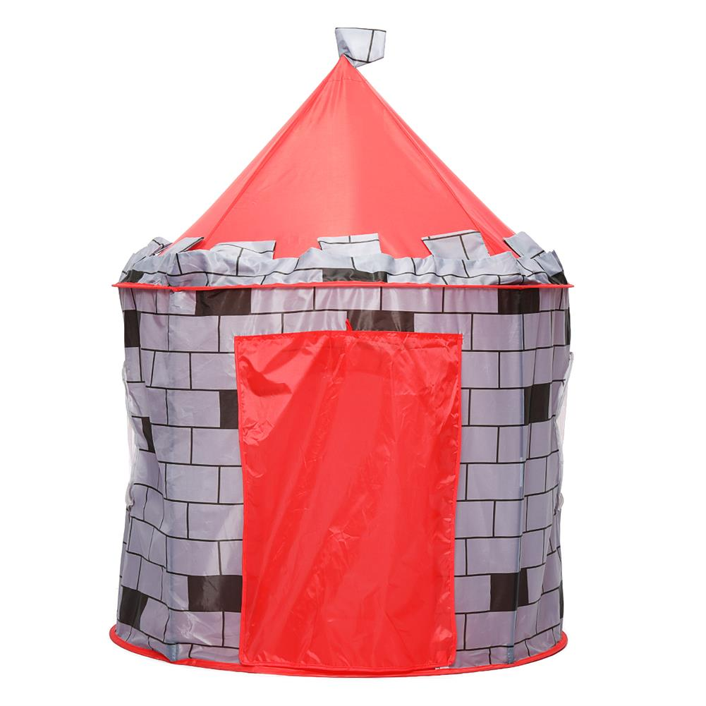 puzzle-game-toys Knight themed Folding Castle Pops Up 10t Play Toys for Kids indoor Outdoor Playhouse Gift HOB1684618 2
