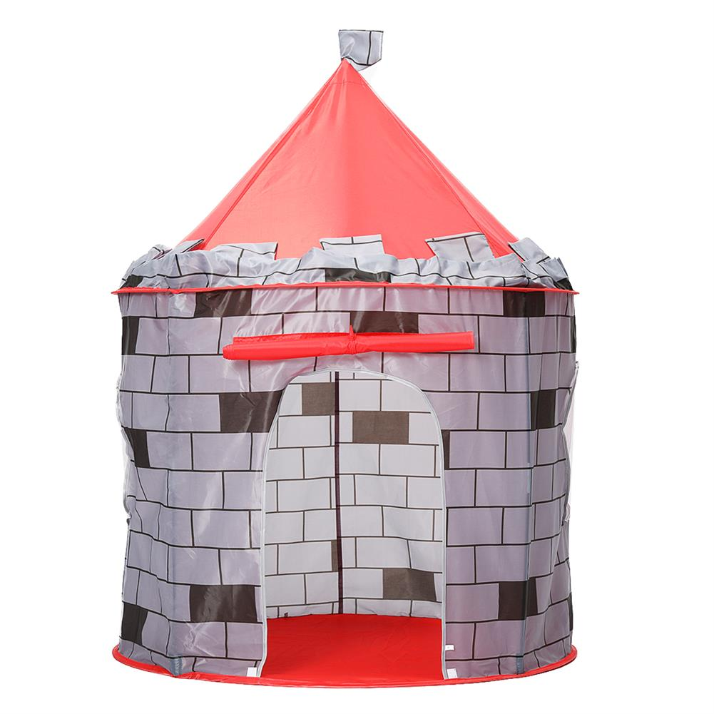 puzzle-game-toys Knight themed Folding Castle Pops Up 10t Play Toys for Kids indoor Outdoor Playhouse Gift HOB1684618 3