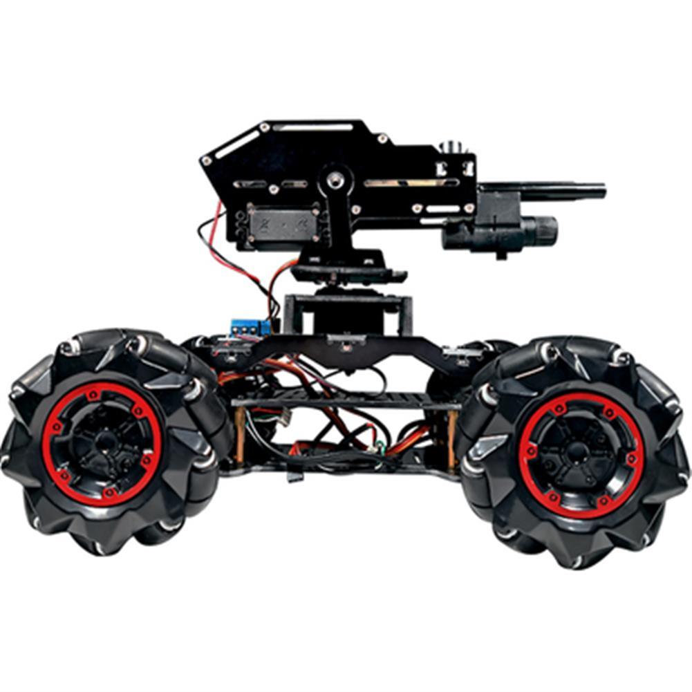 smart-robot-car YOUFUN DIY Smart Robot Car Programmable Bluetooth APP Control Water Ball Shooting Robot Car with Omni Wheels HOB1684890