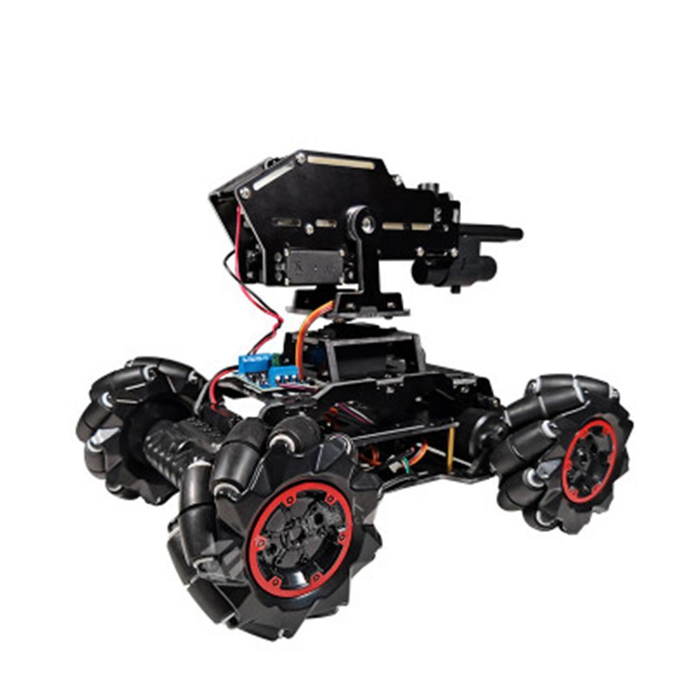 smart-robot-car YOUFUN DIY Smart Robot Car Programmable Bluetooth APP Control Water Ball Shooting Robot Car with Omni Wheels HOB1684890 1