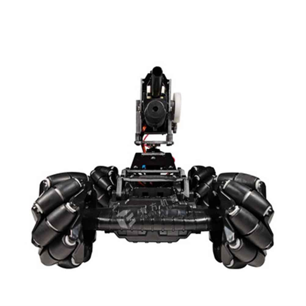 smart-robot-car YOUFUN DIY Smart Robot Car Programmable Bluetooth APP Control Water Ball Shooting Robot Car with Omni Wheels HOB1684890 2