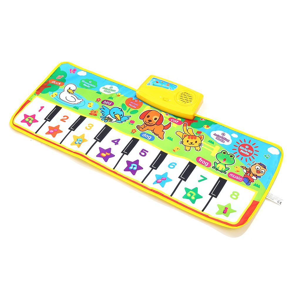 roll-up-piano Musical Kid Piano Baby Crawl Mat Animal Educational Music Soft Kick Toy 5 Modes HOB1685121 1