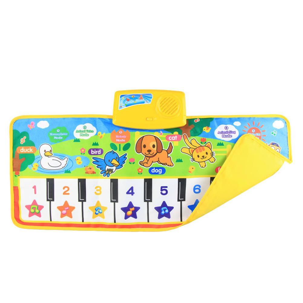 roll-up-piano Musical Kid Piano Baby Crawl Mat Animal Educational Music Soft Kick Toy 5 Modes HOB1685121 3