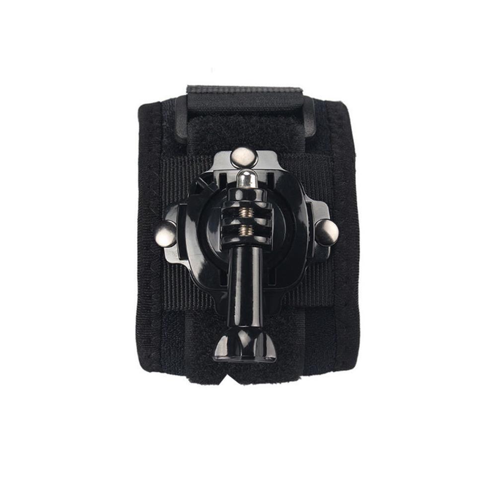 fpv-system Hand Strap 360 Degree Panoramic Camera Mount Black Wrist Strap for Gopro Hero 8 7 6 3 4 Xiaomi SJCAM EKEN Action Cameras Accessories Non-original HOB1685248 3