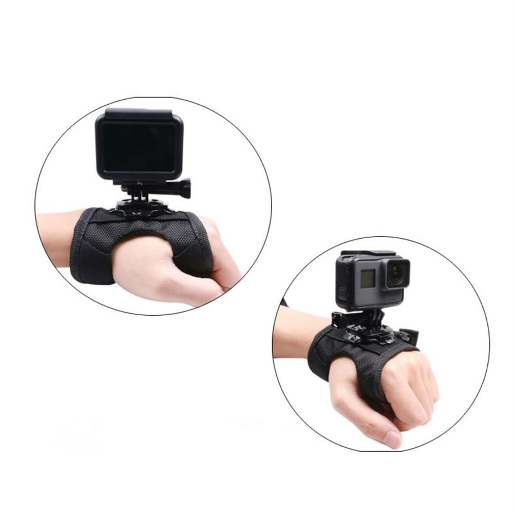 fpv-system Hand Strap 360 Degree Rotating Camera Mount for GoPro 7 6 5 4 3 YI SJCAM OSMO Action Cameras Accessories HOB1685421