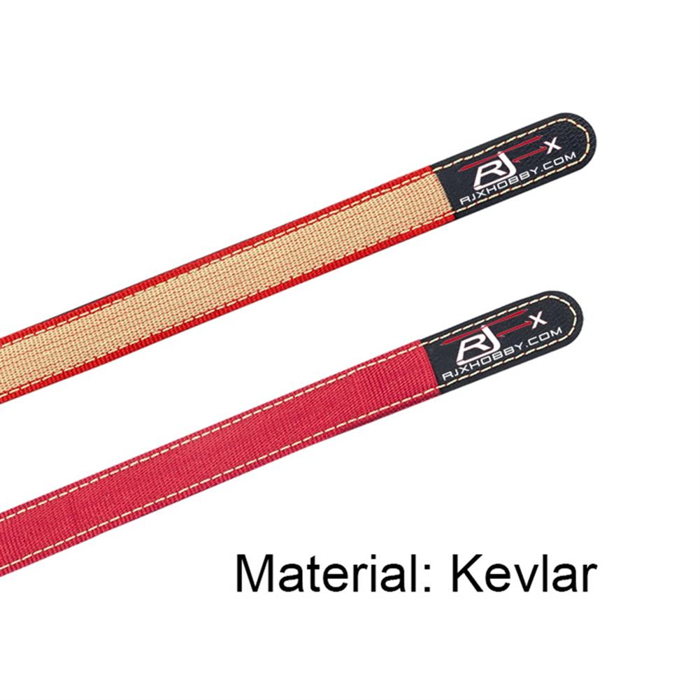 battery-charger 2Pcs RJXHOBBY 20mm Battery Strap Metal Buckle 150-1000mm Length Red Color for RC Drone HOB1685561 2