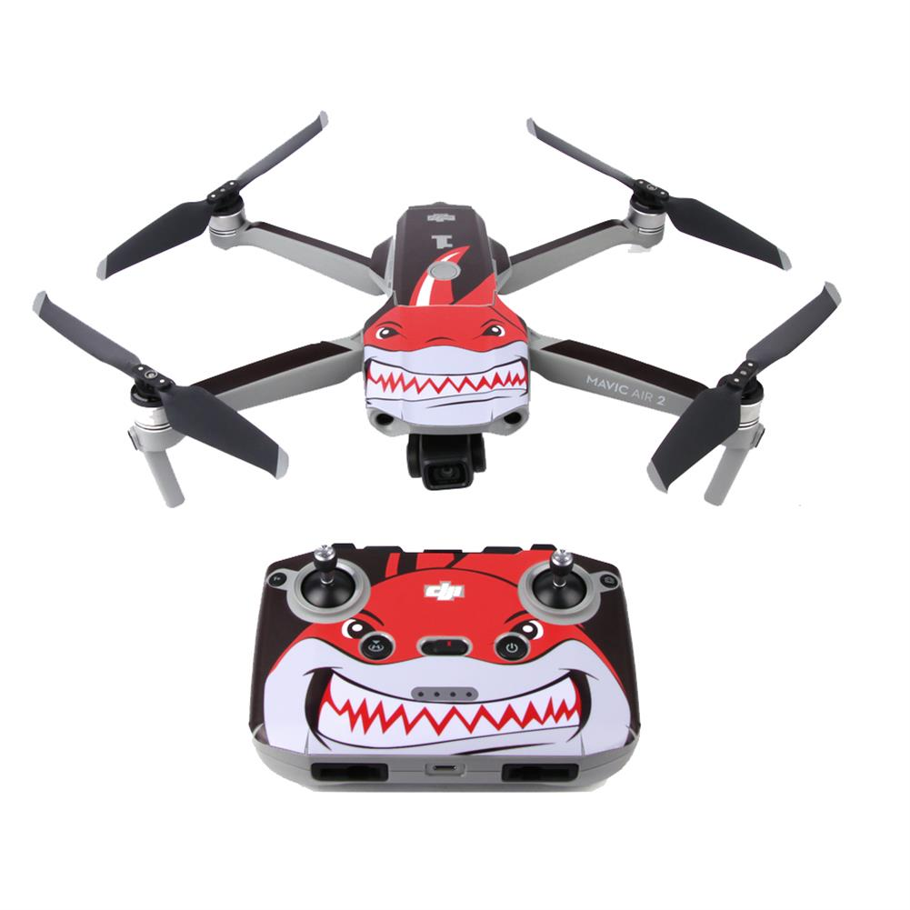 rc-quadcopter-parts Sunnylife Waterproof Anti-Scratch Drone Body&Remote Controller PVC Sticker for DJI Mavic Air 2 RC Quadcopter HOB1685870