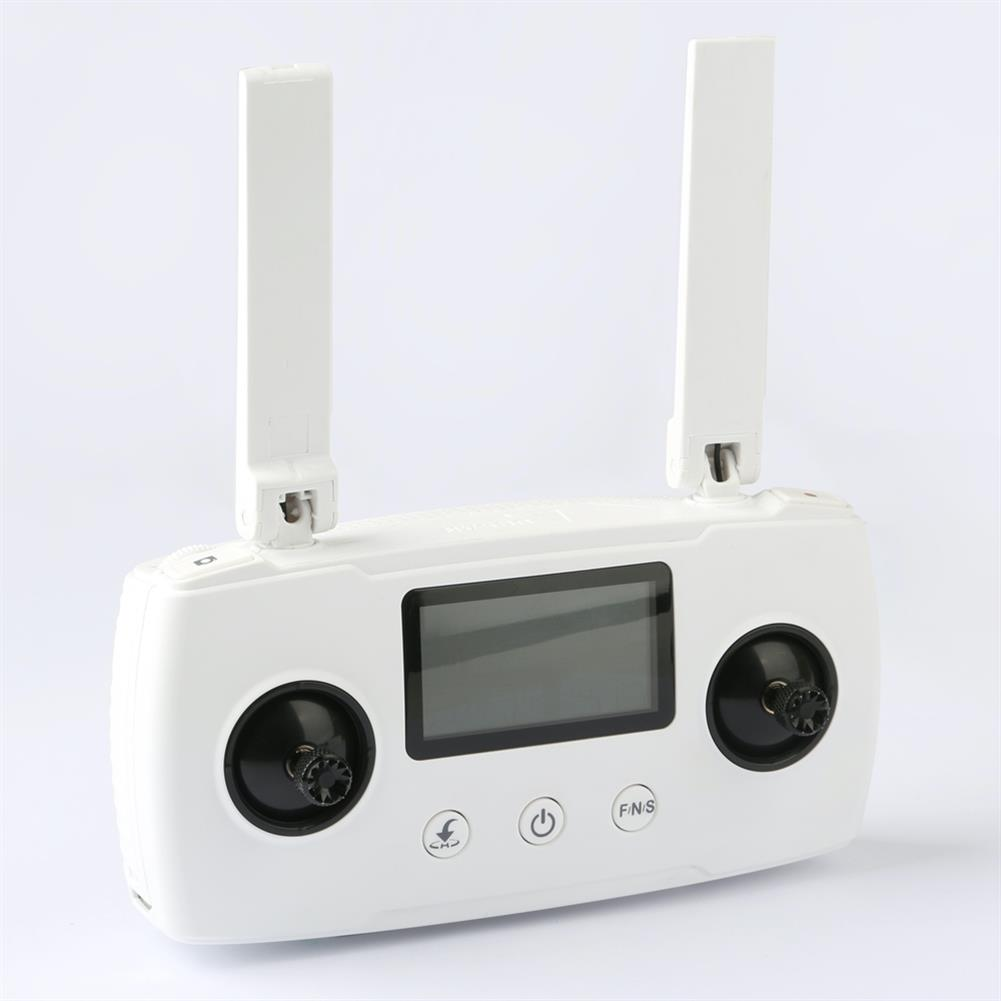rc-quadcopter-parts Hubsan Zino 2 GPS RC Drone Quadcopter Spare Parts HT018A Remote Controller Transmitter White HOB1686227
