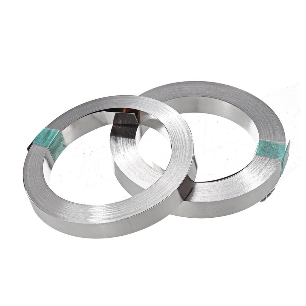 tools-bags-storage 10m 18650 Li-ion Battery Nickel Sheet Plate Nickel Plated Steel Belt Strip Connector HOB1686429