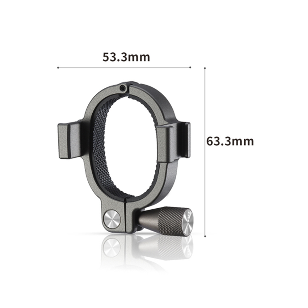 fpv-system Microphone Fill Light Expansion Bracket Adapter for DJI Osmo Mobile 3 Stabilizer HOB1686633 3