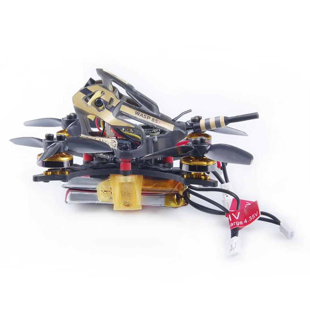 fpv-racing-drone GEELANG WASP 85X 2 inch 2S Toothpick FPV Racing Drone BNF / PNP F4 Flight Controller 1202 8700KV Motor 800TVL Cam HOB1687356 3