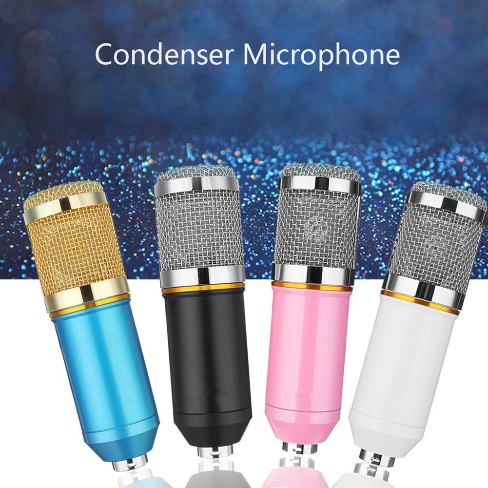 microphones-karaoke-equipment BM800 Studio Condenser Microphone Deskt Pro Audio Sound Pickup Recording Mic HOB1688966