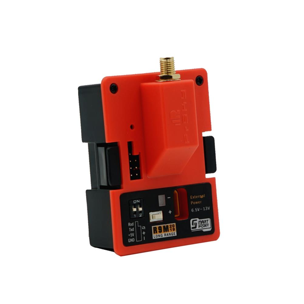 radios-receiver FrSky R9M 2019 900MHz Long Range Transmitter Module and R9 Slim+ OTA ACCESS RC Receiver with Mounted Super 8 and T antenna HOB1689401 2