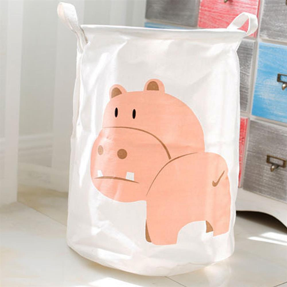 puzzle-game-toys Cartoon Animals Cloth Laundry Basket Storage Bag Laundry Clothes Organizer Pack Toy Artifacts HOB1690768 1