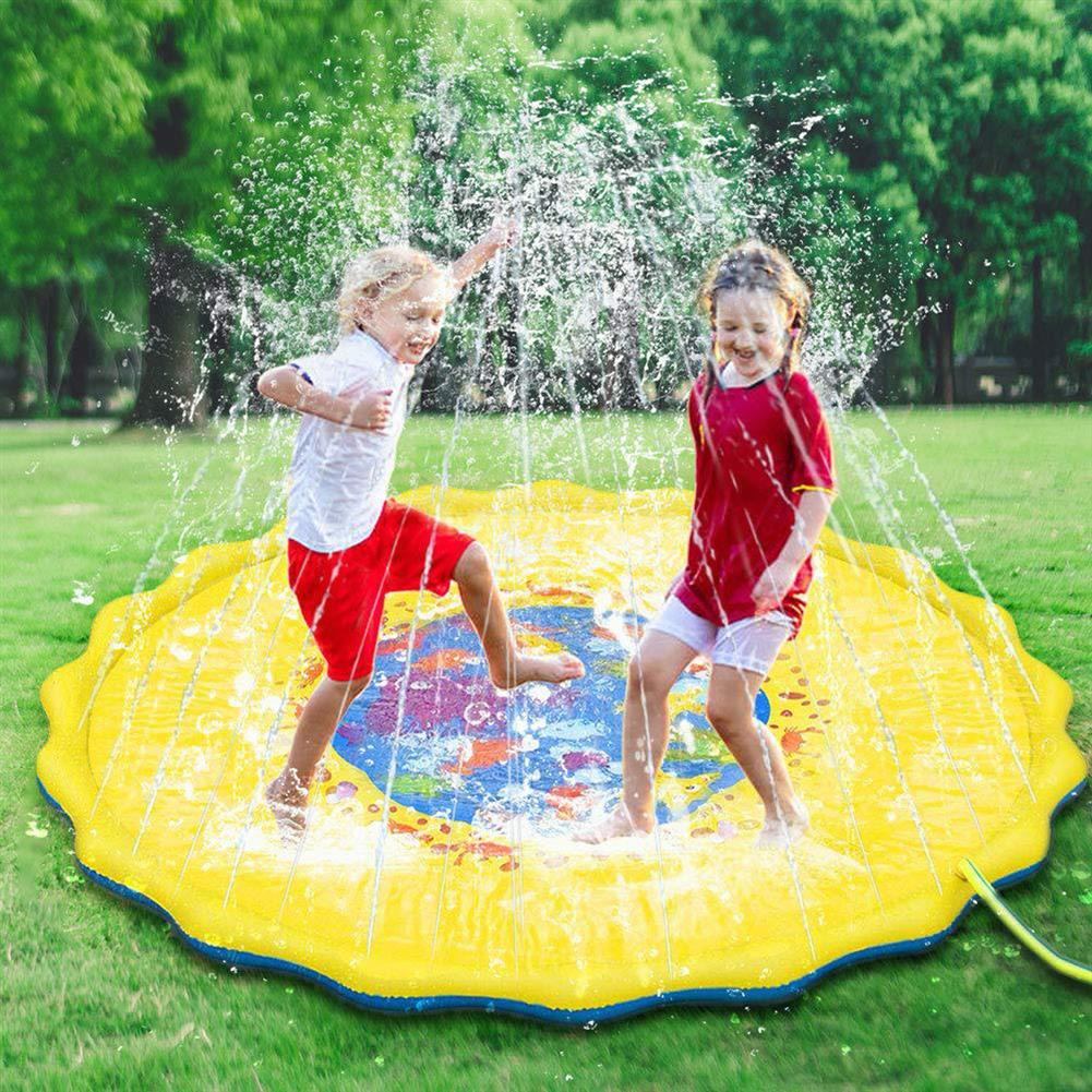 puzzle-game-toys 170cm inflatable Sprinkler Pad Outdoor Sprinkle Splash Water Play Mat Toy Kids HOB1690983 1