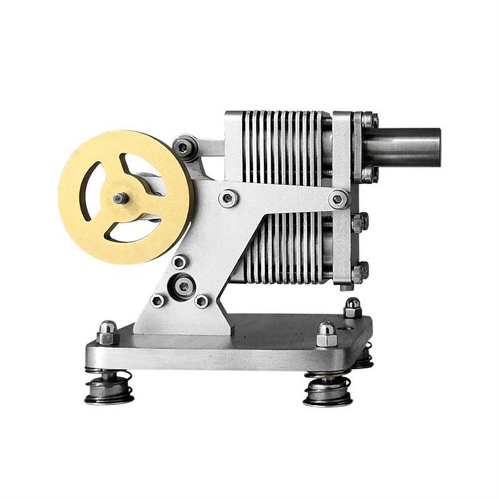 science-discovery-toys SH-015 Stirling Engine Kit Full Metal with Mini Generator Steam Science Educational Engine Model Toy HOB1691329