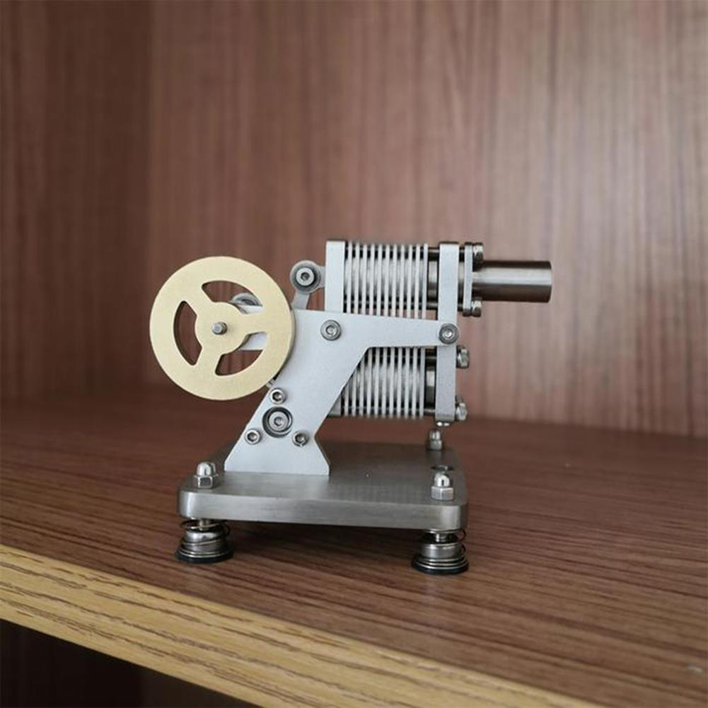 science-discovery-toys SH-015 Stirling Engine Kit Full Metal with Mini Generator Steam Science Educational Engine Model Toy HOB1691329 1