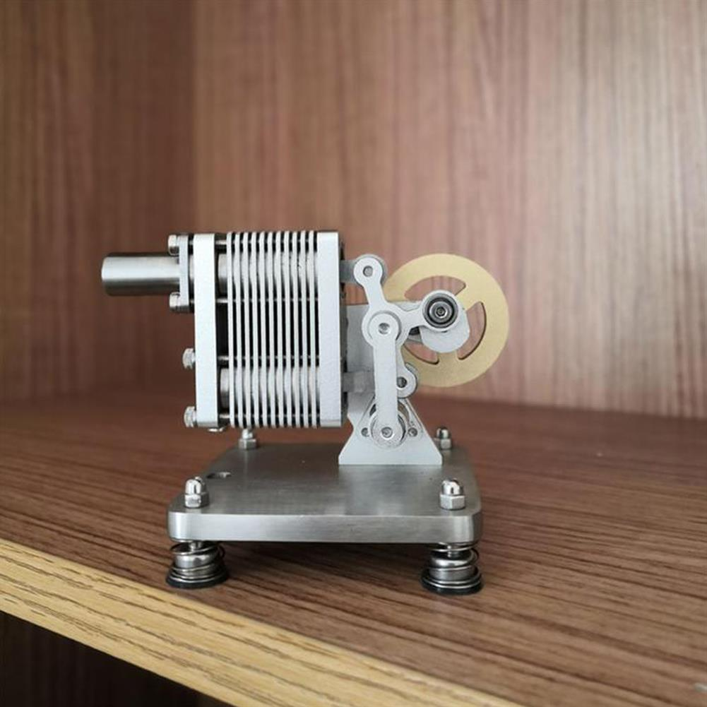 science-discovery-toys SH-015 Stirling Engine Kit Full Metal with Mini Generator Steam Science Educational Engine Model Toy HOB1691329 2