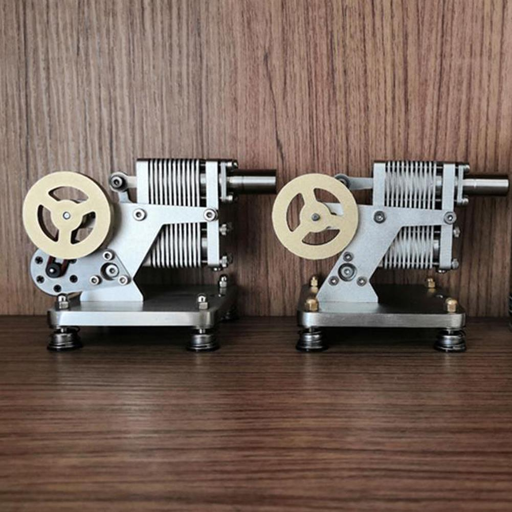 science-discovery-toys SH-015 Stirling Engine Kit Full Metal with Mini Generator Steam Science Educational Engine Model Toy HOB1691329 3