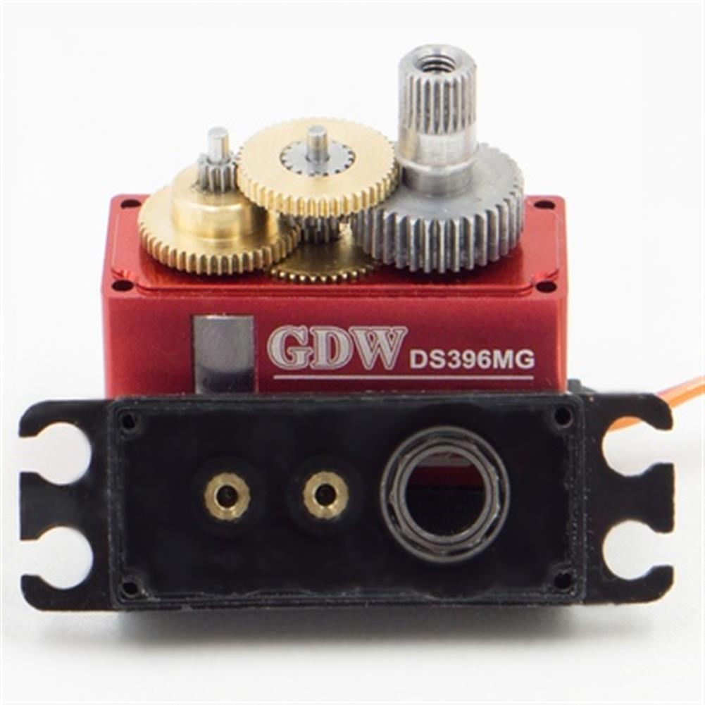 rc-servos GDW DS396MG 12KG Large Torque High Voltage Metal Gear Digital Servo for RC Models HOB1691910 2