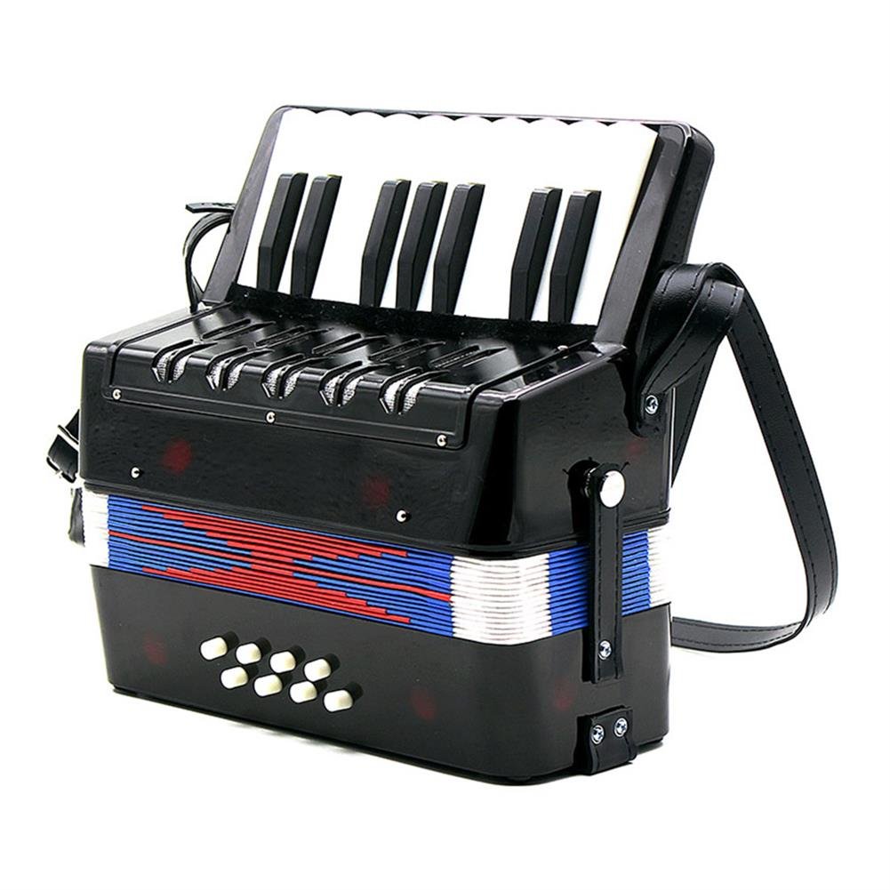 accordion 17 Key 8 Bass Small Accordion Educational Musical instruments for Children Kids Gift HOB1692311
