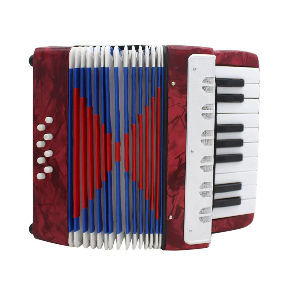 accordion IRIN Professional 17 Key Mini Accordion Educational Musical instrument Toy Cadence Band for Kids Children Adults Gift HOB1692317 1