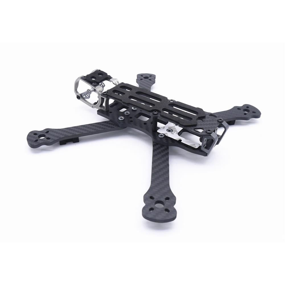 multi-rotor-parts Fonster BB5 Edition 5inch Compressed X Carbon Fiber Quadcopter FPV Frame Kit 4mm Bottom Plate Compatible with DJI Air Unit HOB1692360