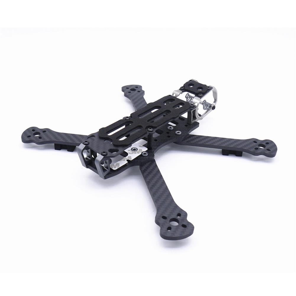 multi-rotor-parts Fonster BB5 Edition 5inch Compressed X Carbon Fiber Quadcopter FPV Frame Kit 4mm Bottom Plate Compatible with DJI Air Unit HOB1692360 1