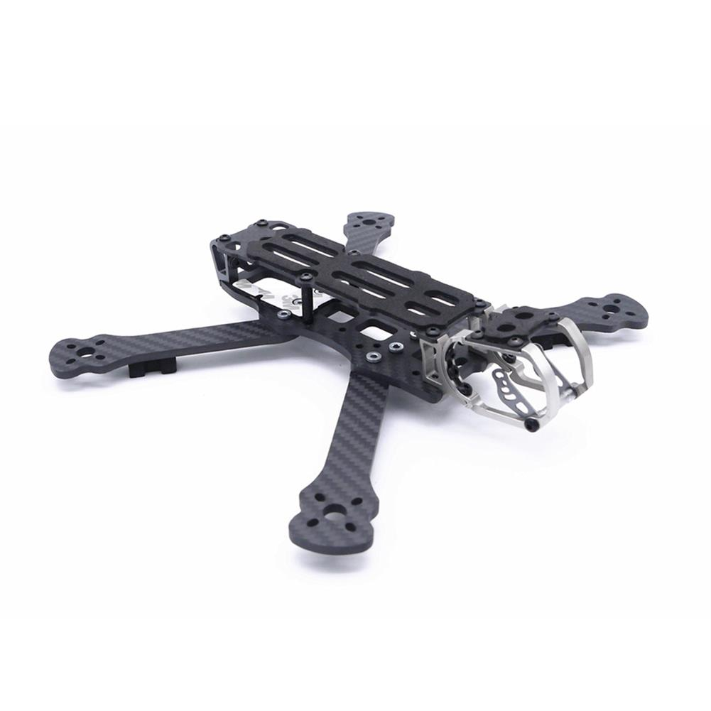 multi-rotor-parts Fonster BB5 Edition 5inch Compressed X Carbon Fiber Quadcopter FPV Frame Kit 4mm Bottom Plate Compatible with DJI Air Unit HOB1692360 3