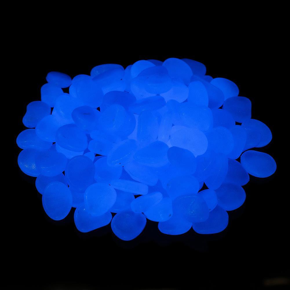 sorting, nesting-stacking-toys 300Pcs Garden Luminous Stones Glow in Dark Decorative Pebbles Outdoor Fish Tank Decoration HOB1694007 2