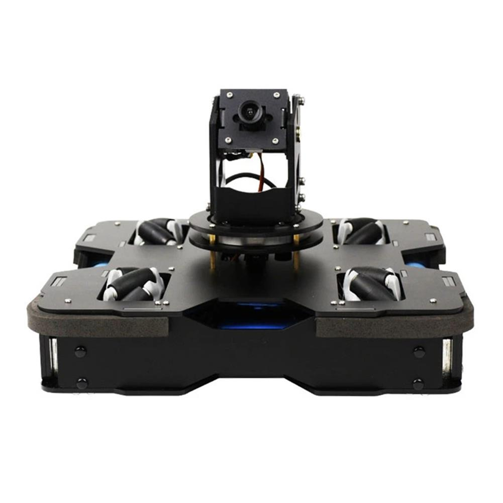 smart-robot Yahboom Raspblock AI Smart Robot Car Kit with Raspberry Pi 4B Vision Voice Broadcast Automatic Driving Visual Identity FPV Romote Control HOB1695118 1