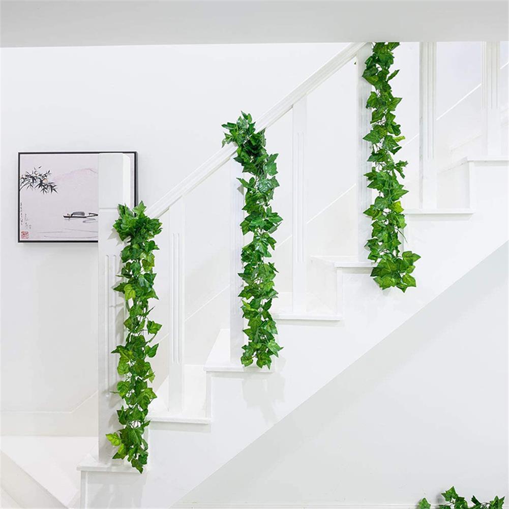 magnetic-toys Artificial Leaf Ivy Vine Plant Foliage Green Leaves Home Garden Decor HOB1695181